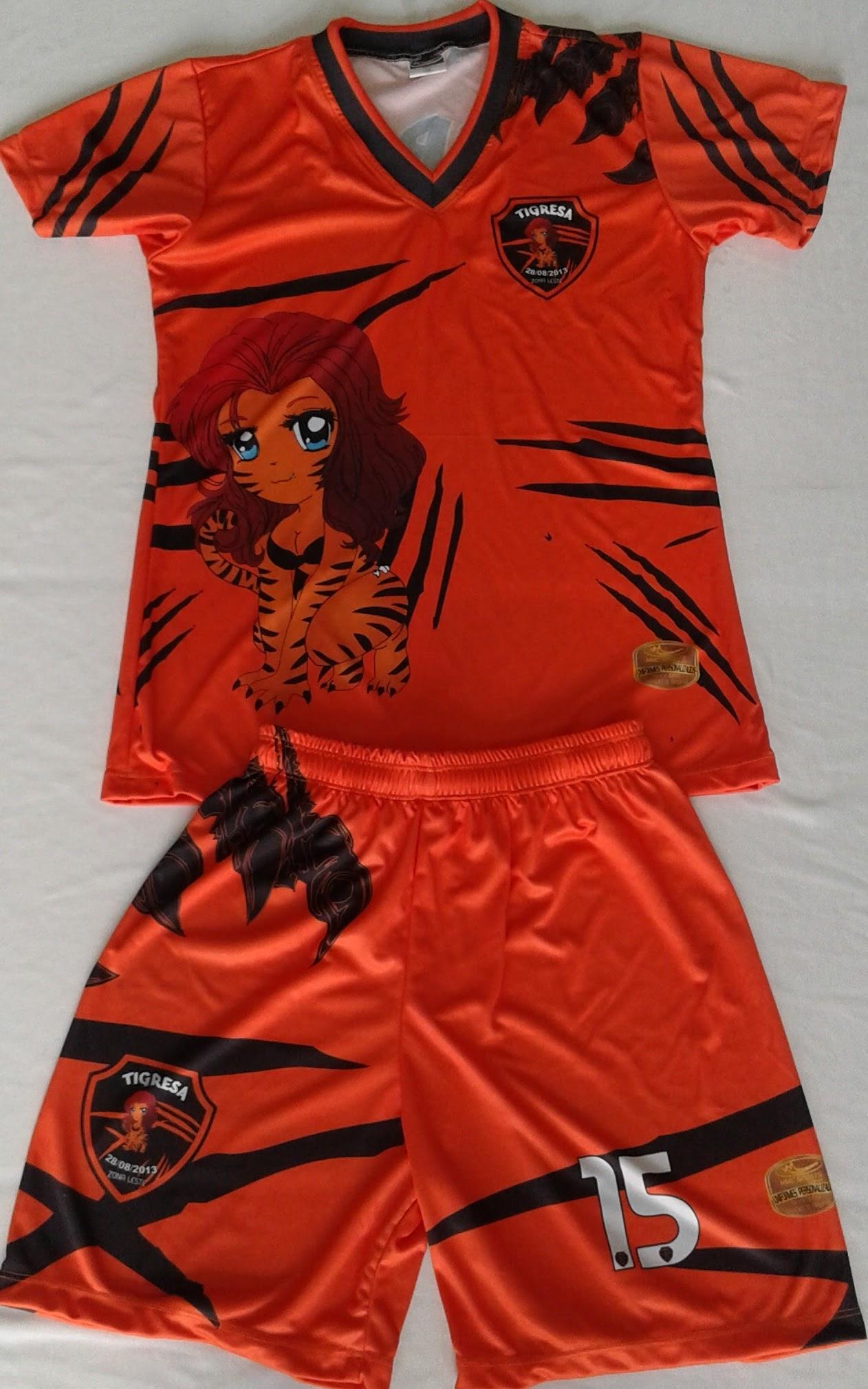993530d23bd64 Fardamentos para futebol feminino Tigresas Futsal